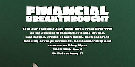 Financial Breakthrough Workshop tickets