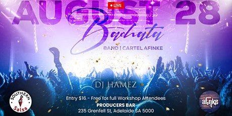 The Producers Bachata - Weekender tickets