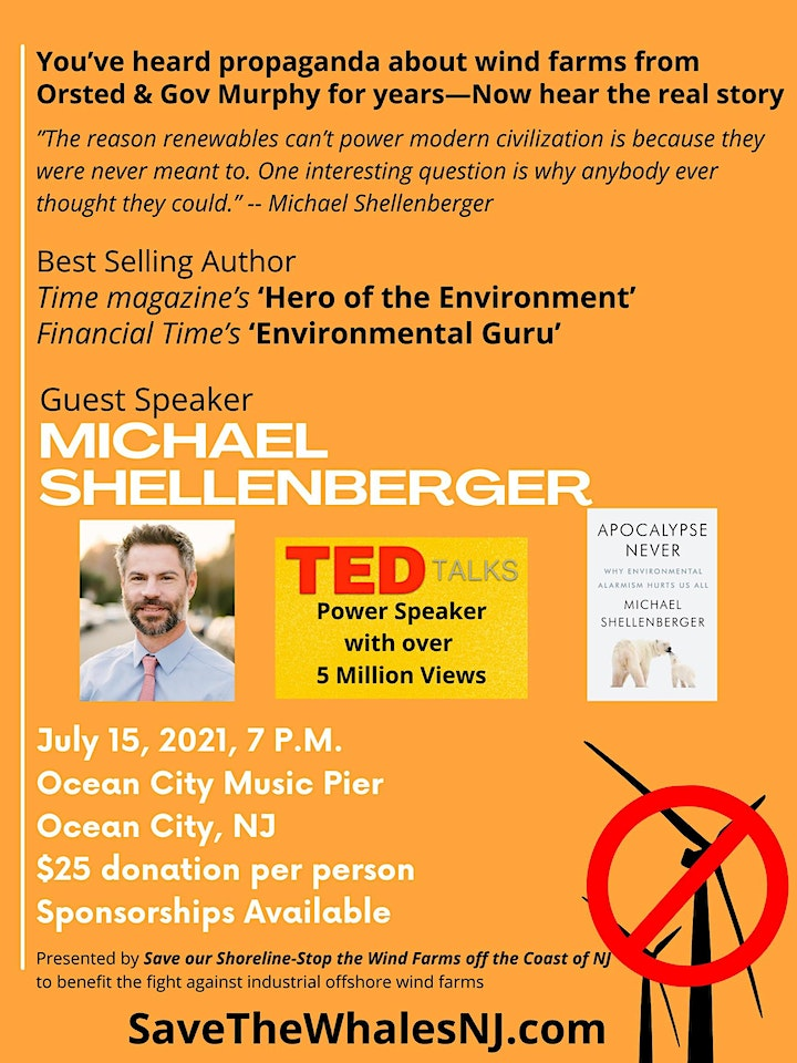 """Michael Shellenberger - Time Magazine """"Hero of the Environment"""" image"""