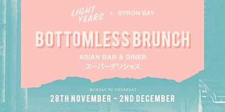 Byron Bottomless Brunch tickets
