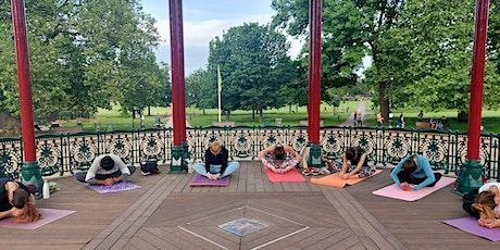 Outdoor yoga & Social @ Clapham Common South London Mondays 6.45pm tickets