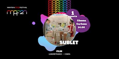 SUBLET: proiezione cinematografica biglietti