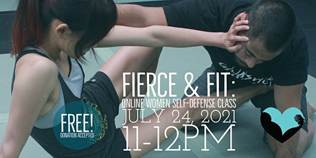 FIERCE & FIT: Online Girls and Women's  Self-defense Class - JULY 2021 tickets