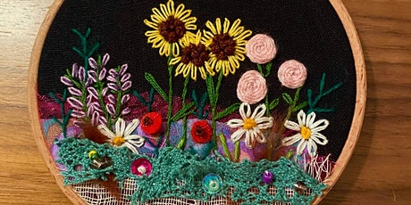 Texture and Layers in Embroidery (AT THE WONKY GIRAFFE, KELSO) tickets