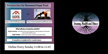 Boxercise for Renewed Hope Trust tickets