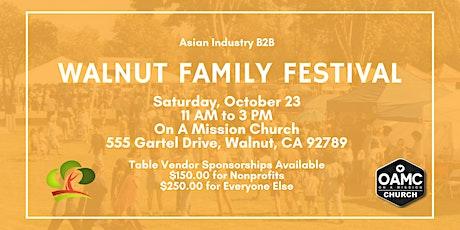 AIB2B Annual Walnut Family Festival tickets