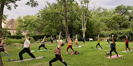Sandia Sunset - Park Yoga Class with Calysta tickets