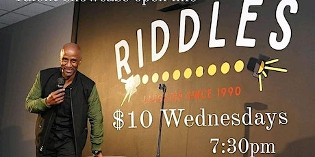 Step to the Mic $10 Wednesdays at RIDDLES tickets