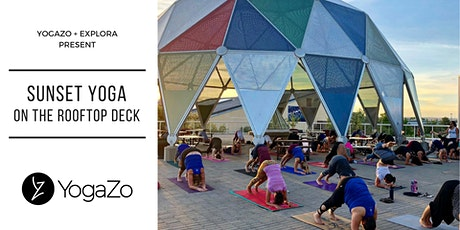 Sunset Yoga On The Rooftop Deck at Explora with Ashley tickets