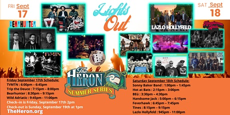Lights Out! Weekend tickets