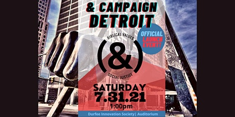 And Campaign Detroit Launch Party tickets