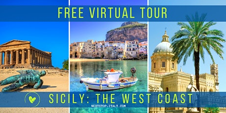 FREE VIRTUAL TOUR: SICILY - The Treasures of the West Coast biglietti