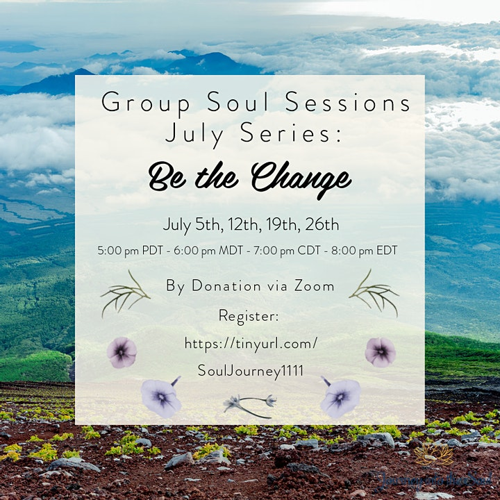 Journey into the Soul - Group Soul Sessions image