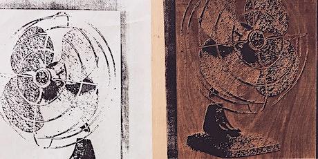 Laser Woodcut Printmaking tickets