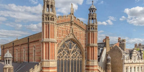 Holy Trinity Sloane Square architecture competition - launch event tickets