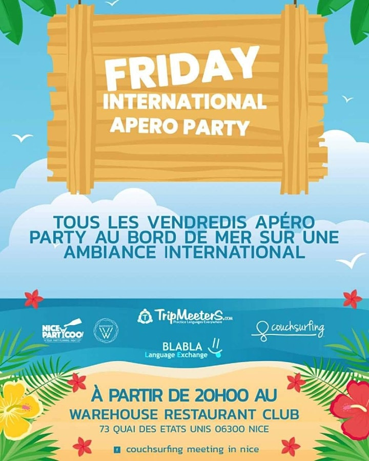 Image pour Friday International  Apero Party