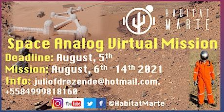 SpaceAnalog Virtual Mission by HABITAT MARTE tickets