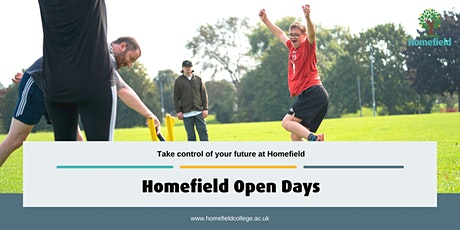 Homefield College October Open Day tickets