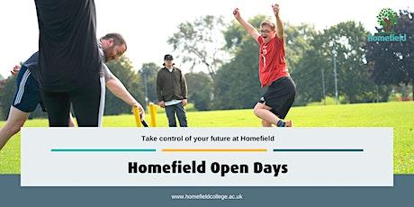 Homefield College Warwickshire Campus Open Day tickets