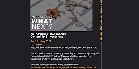 What Next?  Your Journey Into Property Ownership - River Cruise - POSTPONED tickets