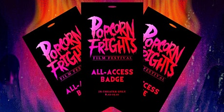 Popcorn Frights In-Theater All-Access Badges tickets