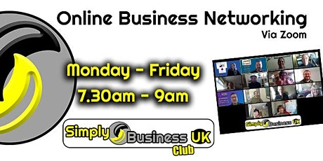 Simply Business Club - Online Networking without restriction! tickets
