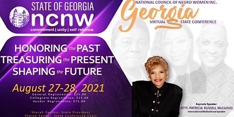 NCNW Georgia Virtual State Conference 2021 tickets