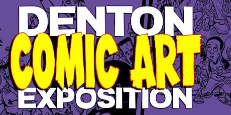 Denton Comic Art Expo tickets