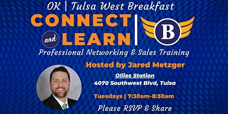 OK | Tulsa West Breakfast - Networking and Sales Training tickets