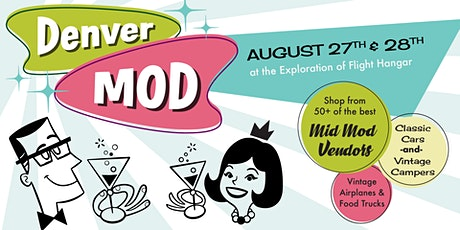Denver Mod Show: A Festival of Mid-Century Furnishings, Fashions, and Fun! tickets