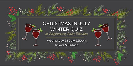 Christmas  in July Winter Quiz tickets