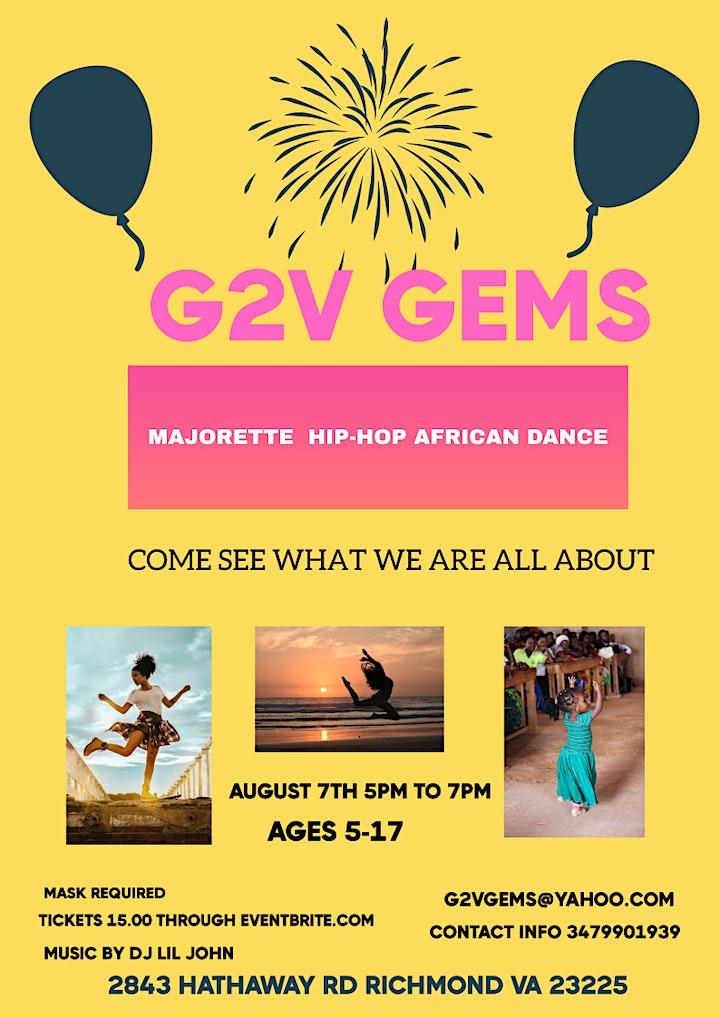 G2V GEMS DANCE INTRODUCTION/WORKSHOP image