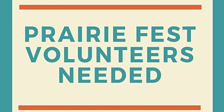 Volunteer at  Prairie Fest 2021 tickets