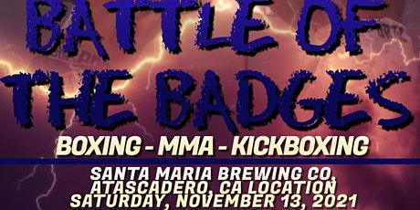 Central Coast Battle of the Badges 2021 tickets