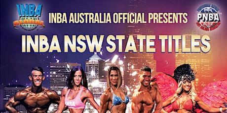 INBA GLOBAL AUSTRALIA NSW STATE TITLES SEASON B tickets