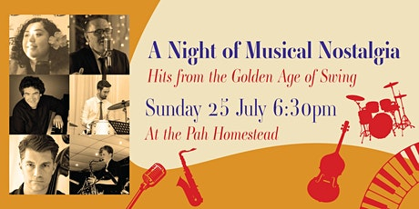 A Night of Musical Nostalgia: Hits from the Golden Age of Swing tickets