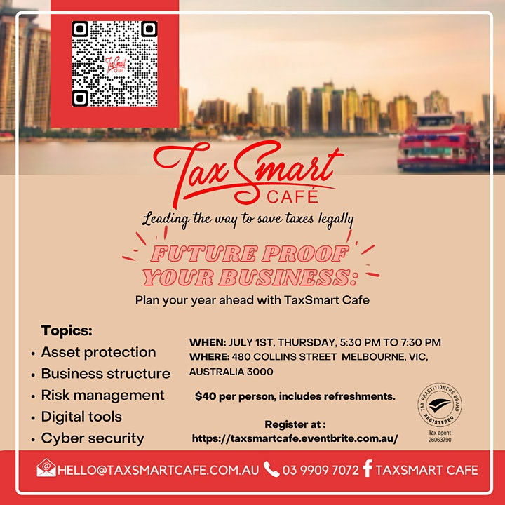 Future-proof your Business: Plan your year ahead with TaxSmart Cafe image