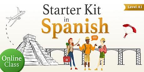 Starter Kit, Spanish online class tickets