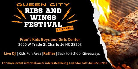 Queen City Ribs and Wings Festival tickets