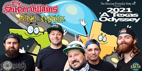 The Supervillains & Audic Empire tickets
