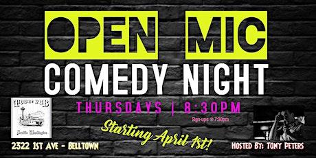 Towne Pub Comedy Open Mic Night tickets
