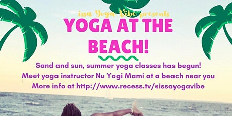 Yoga at the BEACH!!! tickets