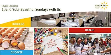 Sunday Luxe Series: WellSpent Children Workshops (FREE) tickets