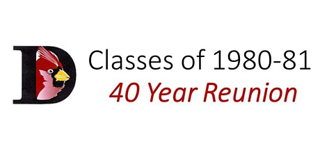 DHS Class of 1980-81 Reunion tickets
