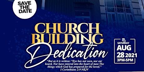 RCCG New Wine Assembly Church Dedication tickets