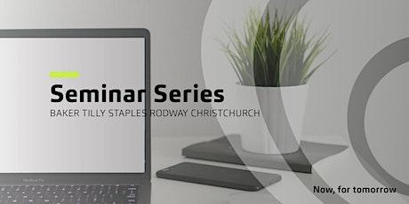 Christchurch Seminar Series tickets