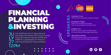Financial Planning & Investing Panel tickets