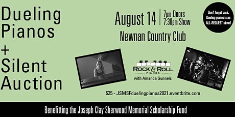 Dueling Pianos + Silent Auction Fundraiser tickets