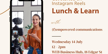 Lunch and Learn -  Get started on Instagram reels tickets