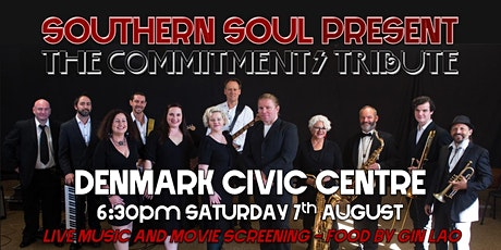 Southern Soul's The Commitments Tribute - live music and movie! tickets